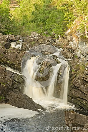 The Falls of Rogie.