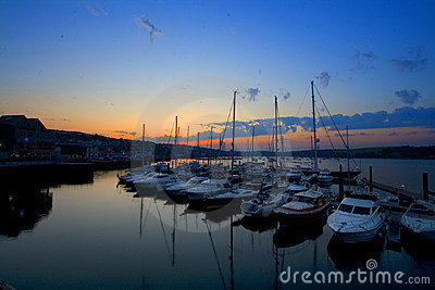 Falmouth Harbour Cornwall
