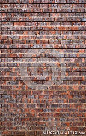 Falsa vertical usada de la pared de ladrillo fotograf a de for Pared de ladrillos falsa