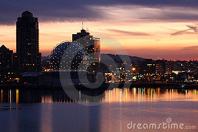 False Creek Dawn, Vancouver