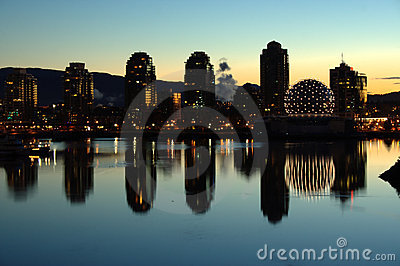 False Creek, Sunrise