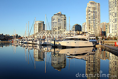False Creek, Yaletown, Vancouver Reflection