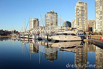 False Creek, Yaletown, Vancouver Reflection