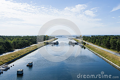 Falsterbo channel, Sweden