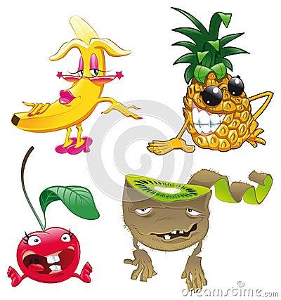 Famiglia di frutta