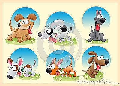 Familia de perros