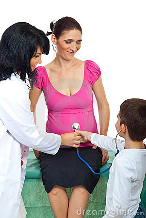 Familia en el doctor