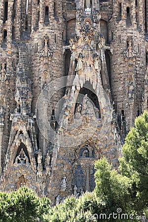 Familia sagrada in Barcelona