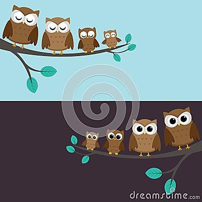 Famille des hiboux