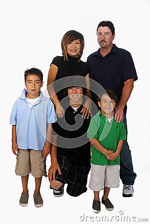 Famille mélangée