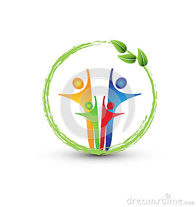 Free Family And Ecology System Logo Stock Image - 28289861