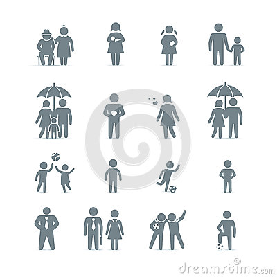 Free Family And Friends Icons Royalty Free Stock Images - 31236869