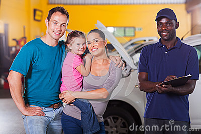 Family auto mechanic