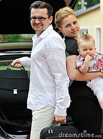 Family auto-trip