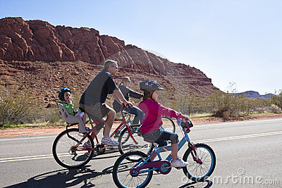 Family Bicycle Ride