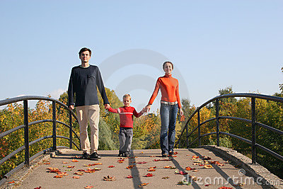 Family with boy