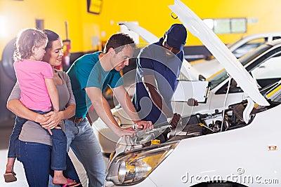 Family car repair
