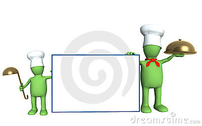 Family of cooks - parent and child