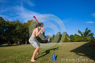 Play Baseball Pitch Home Editorial Photo