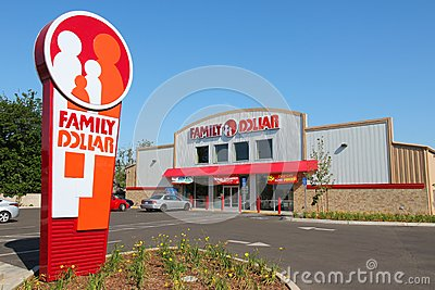 Family Dollar Editorial Image