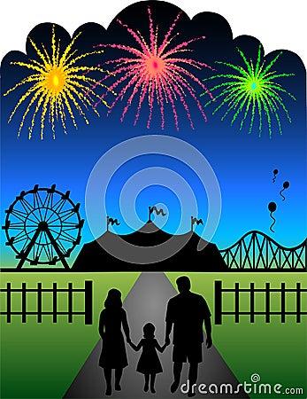 Family Fair Fireworks/eps