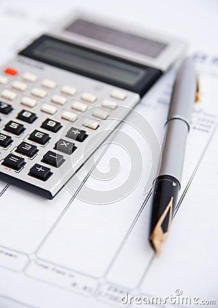 Free Family Finances. Royalty Free Stock Photos - 11947868