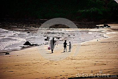 Family of the fisherman