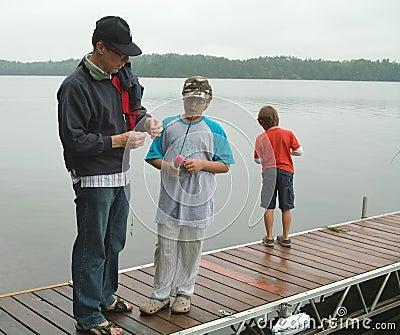 Family Fishing Weekend Ontario Canada