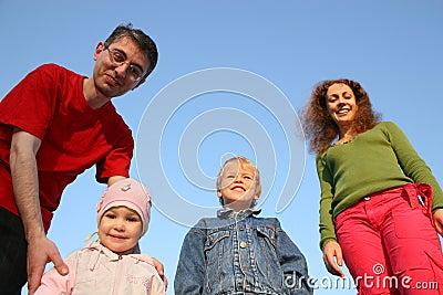 Family of four