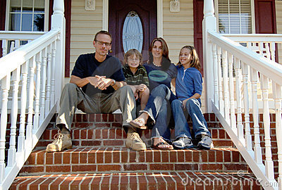 Family front porch