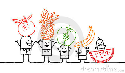 Family & fruits