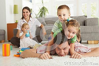Family fun at home