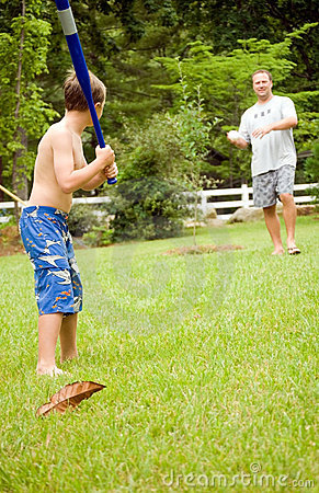 Family Fun/ Playing Ball
