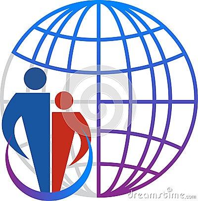 Family globe logo