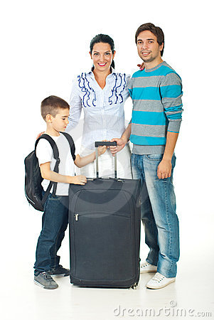 Family going to travel