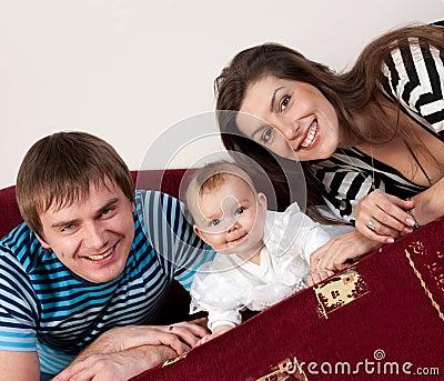 Family happy love