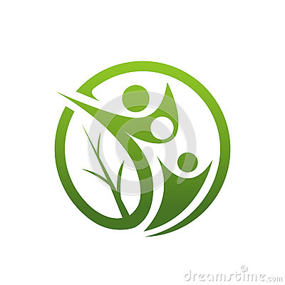 Free Family Healing Leaf Icon Royalty Free Stock Photography - 84874777