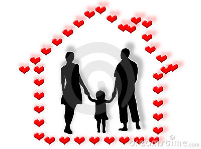 Family and heart home