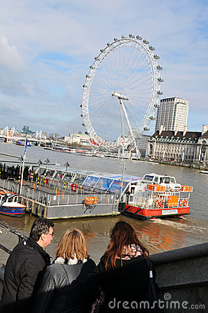 Family holiday in London Editorial Photo