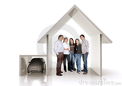 Family home and car