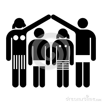 Family and home concept