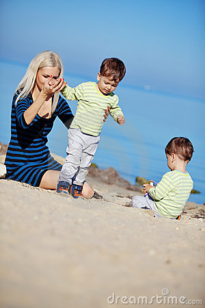 Family Leisure Royalty Free Stock Image - Image: 17181526