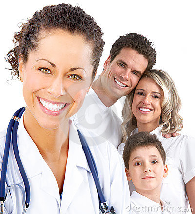 Free Family Medical Doctor Royalty Free Stock Photography - 14016217