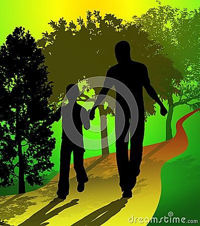 Family member illustration