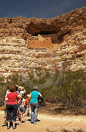 Family at Montezuma s Castle