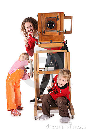 Family and obsolete camera