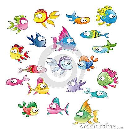 Free Family Of Fish Stock Photo - 7776520