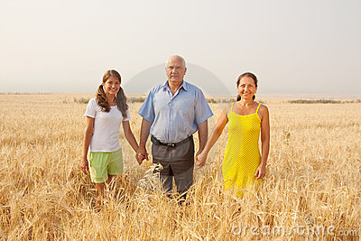 Family  over a field