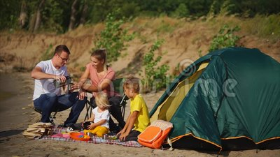 travel and family picnic