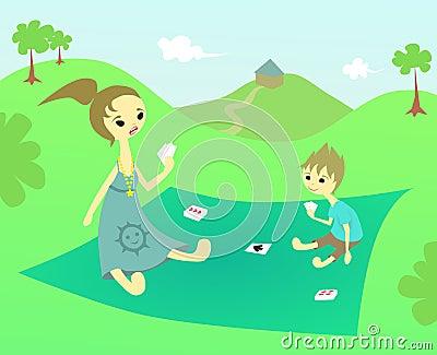 Family picnic time